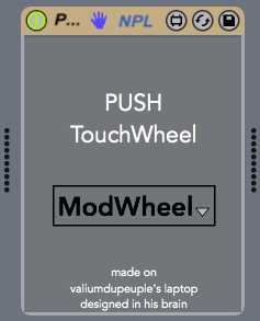 Push-Touchwheel